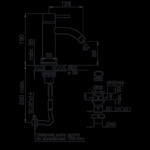 Plano 0181_87-TEMPLE MONOCOMANDO